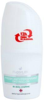 FlosLek Pharma Hypoallergic Line antitranspirante refrescante roll-on sem álcool