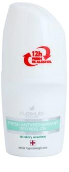 FlosLek Pharma Hypoallergic Line antitranspirante roll-on refrescante sin alcohol