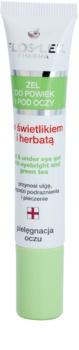 FlosLek Pharma Eye Care гел за околоочната зона с очанка и зелен чай