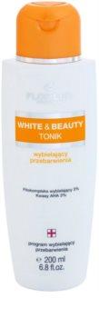 FlosLek Pharma White & Beauty tónico com efeito branqueador