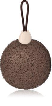 Foamie Mocca Peel Shower Sponge with Shower Core 2 in 1