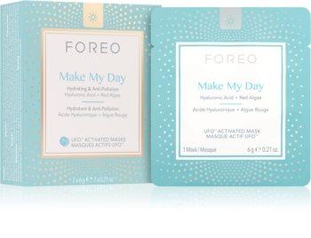 FOREO UFO™ Make My Day masque protecteur visage pour un effet naturel