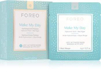 FOREO UFO™ Make My Day ochronna maseczka do twarzy o działaniu nawilżającym