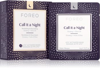 FOREO UFO™ Call It a Night Revitalising Overnight Mask for Skin Renewal with Nourishing Effect
