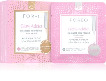 FOREO UFO™ Glow Addict aufhellende Hautmaske