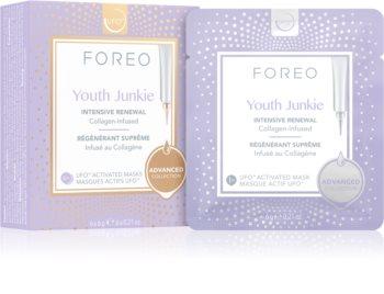 FOREO UFO™ Youth Junkie intenzívne vyyživujúca maska s protivráskovým účinkom