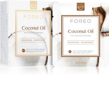 FOREO Farm to Face Coconut Oil maska głęboko odżywiająca