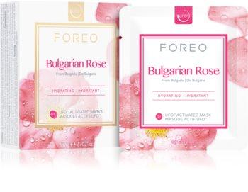 FOREO Farm to Face Bulgarian Rose hydratační maska