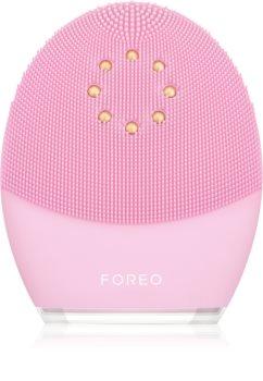 FOREO Luna™ 3 Plus soniczna szczoteczka do oczyszczania twarzy wyposażona w funkcję termiczną i zapewniającą masaż ujędrniający