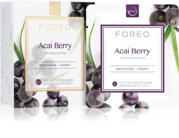 FOREO Farm to Face Acai Berry glättende Maske