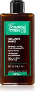 Framesi Barber Gen Rebalancing šampon pro mastné vlasy a vlasovou pokožku