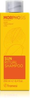 Framesi Morphosis Sun Ritual hydratační šampon pro vlasy namáhané sluncem
