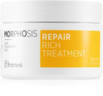 Framesi Morphosis Repair helyreállító hajpakolás töredezett, károsult hajra