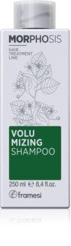 Framesi Morphosis Volumizing sampon a dús hajért a törékeny hajra