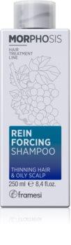 Framesi Morphosis Reinforcing hydratační a zpevňující šampon pro mastnou pokožku hlavy
