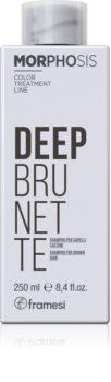 Framesi Morphosis Deep Brunette hydratační šampon pro hnědé odstíny vlasů