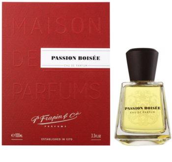 Frapin Passion Boisee eau de parfum para homens 100 ml