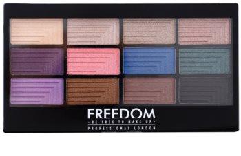 Freedom Pro 12 Dreamcatcher paleta de sombras de ojos con aplicador