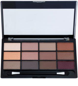 Freedom Pro 12 Secret Rose Eyeshadow Palette with Applicator