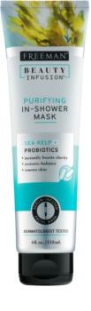 Freeman Beauty Infusion Sea Kelp + Probiotics čistiaca maska do sprchy