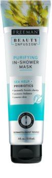 Freeman Beauty Infusion Sea Kelp + Probiotics maseczka oczyszczająca pod prysznic