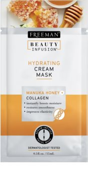 Freeman Beauty Infusion Manuka Honey + Collagen hydratační krémová maska pro normální až suchou pleť