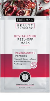 Freeman Beauty Infusion Pomegranate + Peptides revitalisierende Peel-off Maske