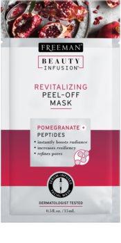 Freeman Beauty Infusion Pomegranate + Peptides revitalizáló lehúzható arcmaszk