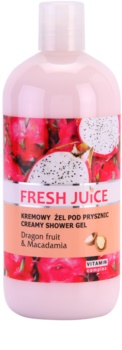 Fresh Juice Dragon Fruit & Macadamia gel de ducha en crema