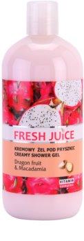 Fresh Juice Dragon Fruit & Macadamia gel de duche cremoso