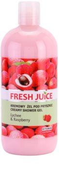 Fresh Juice Lychee & Raspberry gel de duche cremoso