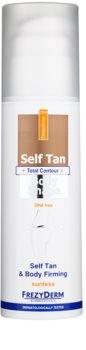 Frezyderm Sun Care loção autobronzeador para refirmação de pele