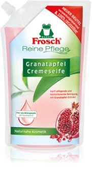 Frosch Creme Soap Pomegranate savon liquide mains recharge