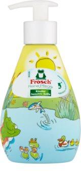 Frosch Creme Soap Kids sabonete líquido delicado para mãos para crianças