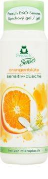 Frosch Senses Orange Blossom sanftes Duschgel für empfindliche Oberhaut