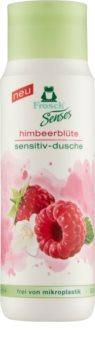 Frosch Senses Raspberry Blossom gyengéd tusfürdő gél az érzékeny bőrre