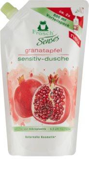 Frosch Senses Pomegranate sprchový gél náhradná náplň