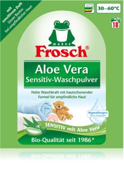 Frosch Waschpulver Aloe Vera mosópor