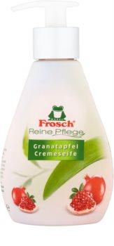 Frosch Creme Soap Pomegranate flüssige Seife für die Hände