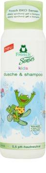 Frosch Senses Kids Shampoo und Duschgel für Kinder