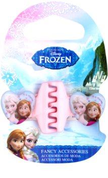 Frozen Princess mola para cabelo em forma de coração