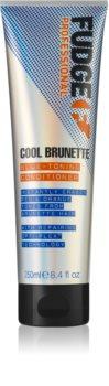 Fudge Care Cool Brunette après-shampoing pour cheveux bruns à foncés