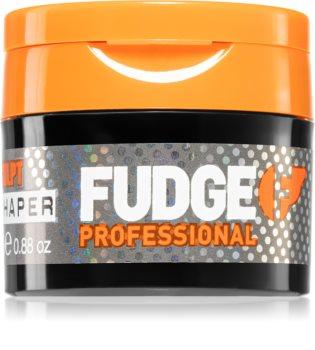 Fudge Sculpt Matte Hed Mouldable modelleer crèmeklei voor het Haar