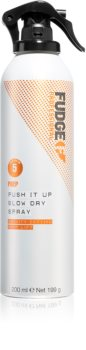 Fudge Prep Push It Up spray volumateur brushing et finition