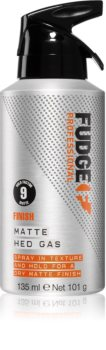 Fudge Finish Matte Hed Gas Styling Texture Spray for a Matte Look