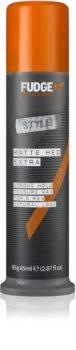 Fudge Style Matte Hed Extra cera de pelo fijación extra fuerte