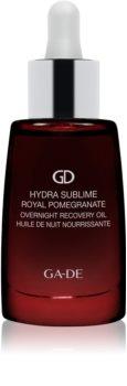 GA-DE Hydra Sublime Royal Pomegranate feuchtigkeitsspendendes, revitalisierendes Öl für die Nacht