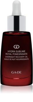 GA-DE Hydra Sublime Royal Pomegranate hydratační revitalizační olej na noc