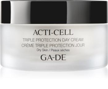 GA-DE Acti-Cell dreifach wirkende Creme für trockene Haut