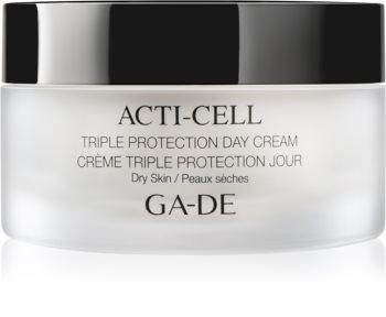 GA-DE Acti-Cell крем с троен ефект за суха кожа